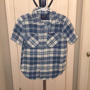 Boys Polo by Ralph Lauren collard shirt.
